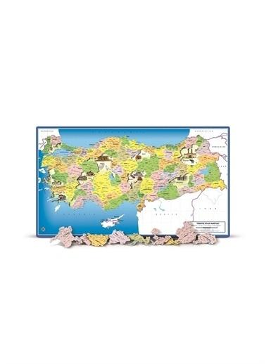 Art Puzzle Art Puzzle Türkiye Siyasi Haritası - 81 Parça Frame Puzzle Renksiz